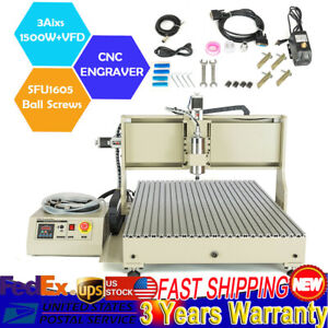 Usb 3axis Cnc 6090 Router Engraver Machine Carve drilling milling Woodworking rc