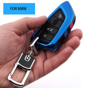 M style Car Key Case Fob Cover Bag Holder Key Chain For Bmw X1 X3 X5 X6 F15 C1