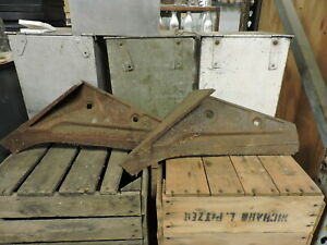 Antique Pair Of Leroy Plow Co Blades shares 110 210