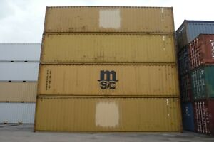 40 Ft Hc Used Shipping Container