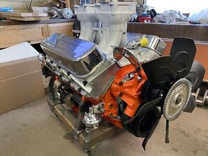 468 Big Block Chevy Engine New Complete
