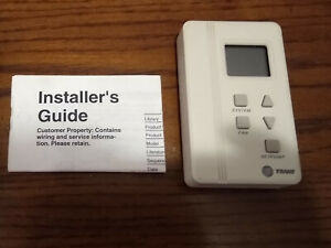Trane Digital Thermostat Sd155 004 New With Box Installation Guide