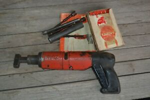 Hilti Dx400 Powder Actuated Tool With Extras