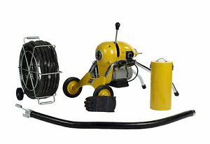Steel Dragon Tools K1500b Sewer Line Drain Cleaning Machine Fits Ridgid Cable