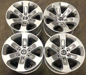 4 2019 21 Dodge Ram 1500 18 Laramie Factory Oem Aluminum Wheels Rims 2672 2442
