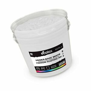 Ecotex Underbase White Plastisol Ink For Screen Printing Non Phthalate Formul