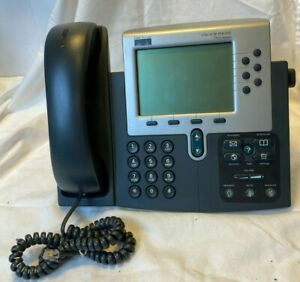 Cisco Ip Phone Model 7960 Series Handset Cord Tested Office Business 7900 Memory