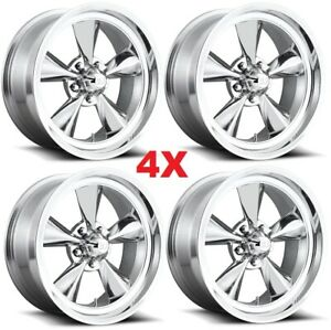 20 Wheels Rims Polished Us Mags Standard Thrust Torq Ss Cragar