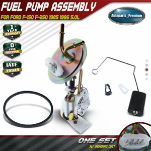 Electric Fuel Pump Assembly For Ford F 150 F 250 1985 1986 5 0l Rear E5tz9h307b