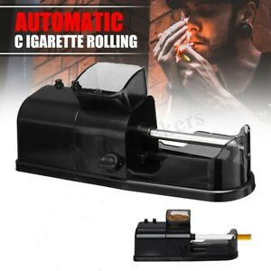 Electric Automatic Cigarette Tobacco Rolling Machine Maker Roller Injector