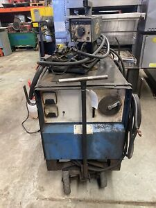 Millermatic Cp 250ts Mig Welder With Wire Feed Miller Matic Control Cart