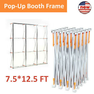 7 5 12 5ft Display Booth Frame Tension Aluminum Alloy Trade Show Display Booth