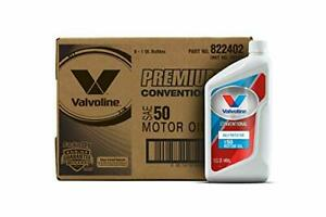 Valvoline Daily Protection Sae 50 Conventional Motor Oil 1 Qt Case Of 6