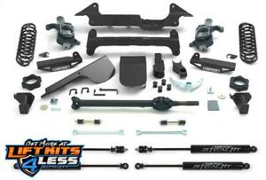 Fabtech K5000m 6 Perform Liftkit W stealth Shock Coil Springs For 03 08 H2 4wd