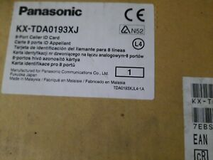 1x Panasonic Kx tda0193xj Tda0193xj Trunk Card 8 port Caller Id Card New