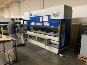 Trumpf Trubend 3120 Cnc Hydraulic Press Brake 10 X 132 Tons 5759
