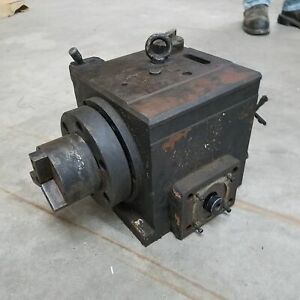 Smw Rt 3j Rotary Table Indexer W Northfield 3 Jaw Chuck Used
