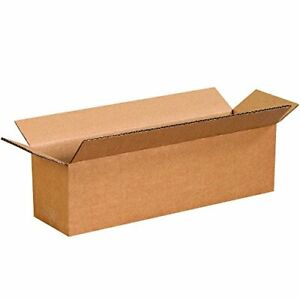 14 X 4 X 4 Long Cardboard Corrugated Boxes 65 Lbs Capacity Ect 32 25