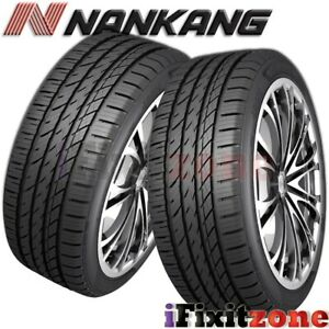 2 Nankang Ns 25 All season Uhp 215 45r17 91v Xl A s Tires 50 000 Mile Warranty