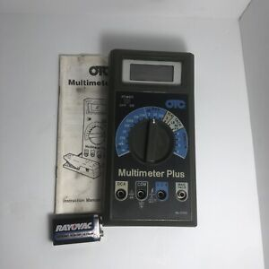 Otc Owatonna Tool Company 3390 Digital Multimeter Plus 3500 01 Great Condition