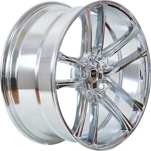 4 G38 18 Inch Chrome Rims Fits Toyota Camry 4 Cyl 2012 2018