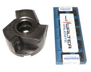 3 Valenite Mcn90 306 5r3 125f Indexable Milling Cutter W Inserts Stock fm1278