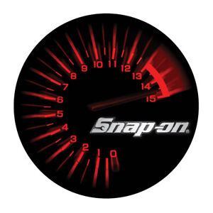 Snap on Tools Tachometer Decal 4 Dia