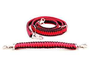 Firefighter Ems Police Paracord Radio Strap Sling 60 W 13 Stabilzer Red