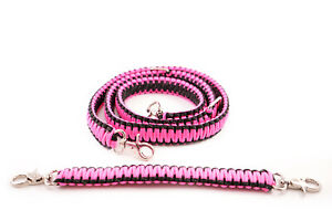 Firefighter Ems Police 550 Paracord Radio Strap Sling 60 W 13 Stabilzer Pink