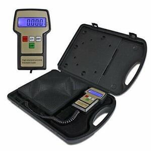 Profession 220lbs Digital Electronic Refrigerant Charging Weight Scale For Hvac