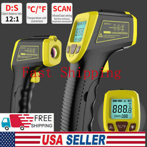 Digital Infrared Thermometer Handheld Temperature Gun Non contact Ir Laser Point