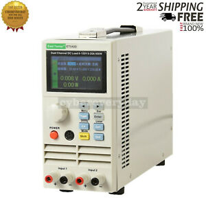 Dual Channel Programmable Dc Electronic Load 200wx2 For Charger Power Supply