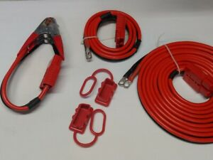 4 gauge 25 ft Hi amp Universal quick connect wiring kit trailer mounted winch