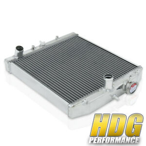 Dual Core Upgrade Replacement Race Aluminum Cooling Radiator For 92 00 Civic M t