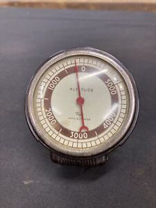 1930s 1940s 1950s Vintage Accessory Taylor Altimeter Chevy Ford Bomb Plymouth