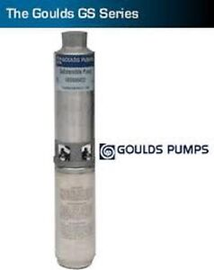1 2hp 10gs05411cl Goulds Well Pump 1 60 115v 3 Wire Nib Requires Control Box