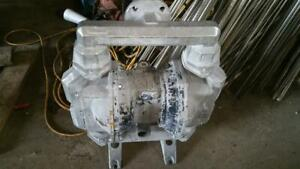 Aro 2 Stainless Diaphragm Pump Pf20a ass ssa Used