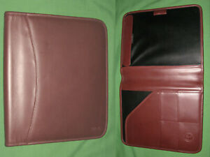 8 5x11 Note Pad Brown Leather Levenger Planner Binder Franklin Covey Monarch 680