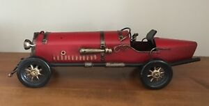 Vintage Roadster Decorative Collectible Metal Car With Lots Of Detail Awesome