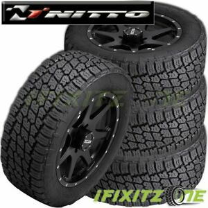 4 Nitto Terra Grappler G2 Lt295 70r18 129 126q All Terrain A T Suv Truck Tire