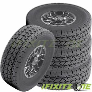 4 Nitto Dura Grappler 265 60r18 110h Commercial Lt Truck Highway Tires