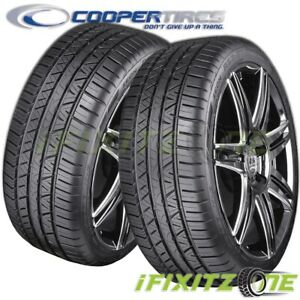 2 New Cooper Zeon Rs3 g1 High Performance 215 45r17 91w Xl M s All season Tires