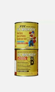 Pc Products Pc woody Wood Repair Epoxy Paste Two part 96 Oz In Two Cans Tan