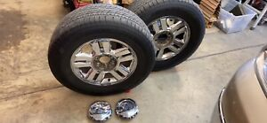 2007 Ford F150 Oem 18 wheels Hankook Tires 275 65 r18 Lug Nuts And Center Caps
