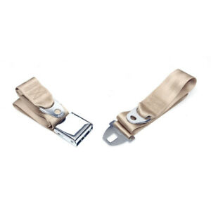Chevelle Seat Belt Front Fawn 1964 1966 Early 50 205119 1