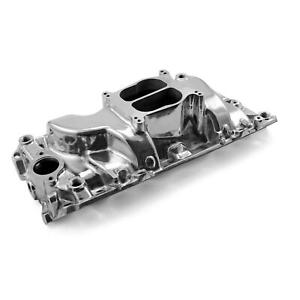Big Block Chevy 396 454 Oval Port 1500 6000 Rpm Polished Intake Manifold