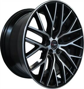 4 G43 22 Inch Staggered Black Rims Fits Chevy Camaro Rs 2010 15