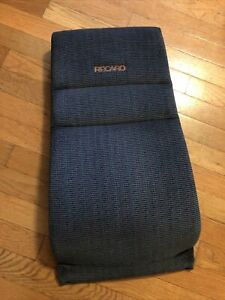Vw Recaro Ls Mk2 Jetta Gli Golf Gti 16v Grey Velour Center Seat Foam Fabric