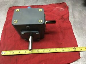 313 50 g1 Boston Gear New Unused Right Angle Reduction Gearbox