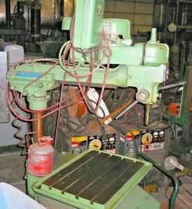 30 Rockwell Radial Arm Drill Press 7 Quill Travel 1 2 Hp 230 460v 3 60